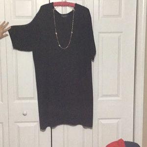 Lane Bryant Designs Short-Sleeve Sweater Dress